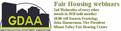 2018 GDAA fair housing webinars