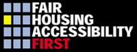 Fair Housing Accessibility First logo